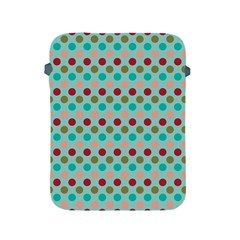 Large Colored Polka Dots Line Circle Apple Ipad 2/3/4 Protective Soft Cases by Mariart