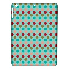 Large Colored Polka Dots Line Circle Ipad Air Hardshell Cases by Mariart