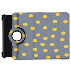 Limpet Polka Dot Yellow Grey Kindle Fire Hd 7  by Mariart