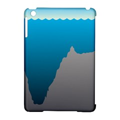 Mariana Trench Sea Beach Water Blue Apple Ipad Mini Hardshell Case (compatible With Smart Cover) by Mariart