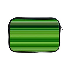Horizontal Stripes Line Green Apple Ipad Mini Zipper Cases by Mariart