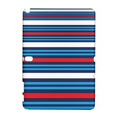 Martini Style Racing Tape Blue Red White Galaxy Note 1 by Mariart