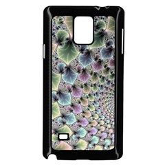 Beautiful Image Fractal Vortex Samsung Galaxy Note 4 Case (black)