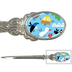 New Zealand Birds Close Fly Animals Letter Openers by Mariart