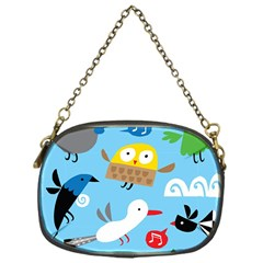 New Zealand Birds Close Fly Animals Chain Purses (one Side)  by Mariart
