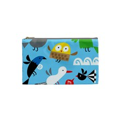 New Zealand Birds Close Fly Animals Cosmetic Bag (small)  by Mariart
