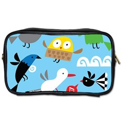 New Zealand Birds Close Fly Animals Toiletries Bags by Mariart