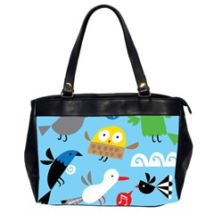 New Zealand Birds Close Fly Animals Office Handbags (2 Sides)  by Mariart