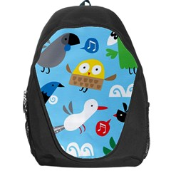 New Zealand Birds Close Fly Animals Backpack Bag by Mariart