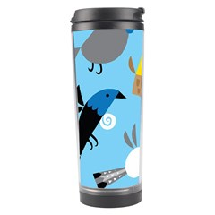 New Zealand Birds Close Fly Animals Travel Tumbler by Mariart