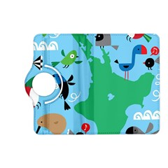 New Zealand Birds Detail Animals Fly Kindle Fire Hd (2013) Flip 360 Case by Mariart