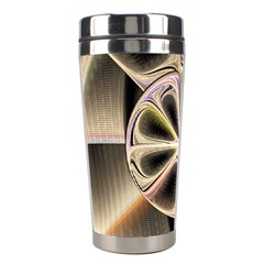 Background With Fractal Crazy Wheel Stainless Steel Travel Tumblers by Simbadda