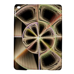 Background With Fractal Crazy Wheel Ipad Air 2 Hardshell Cases by Simbadda