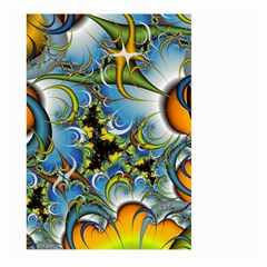 High Detailed Fractal Image Background With Abstract Streak Shape Large Garden Flag (two Sides) by Simbadda