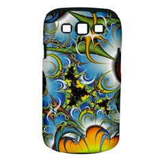 High Detailed Fractal Image Background With Abstract Streak Shape Samsung Galaxy S Iii Classic Hardshell Case (pc+silicone) by Simbadda