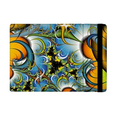 High Detailed Fractal Image Background With Abstract Streak Shape Ipad Mini 2 Flip Cases by Simbadda
