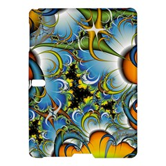 High Detailed Fractal Image Background With Abstract Streak Shape Samsung Galaxy Tab S (10 5 ) Hardshell Case  by Simbadda