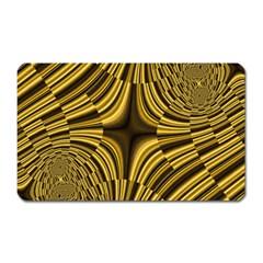 Fractal Golden River Magnet (rectangular) by Simbadda