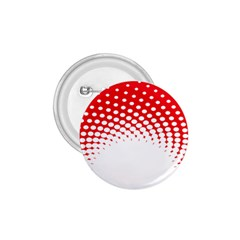 Polka Dot Circle Hole Red White 1 75  Buttons by Mariart
