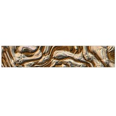 Fractal Background Mud Flow Flano Scarf (large) by Simbadda