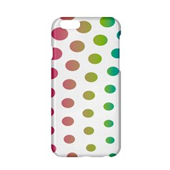 Polka Dot Pink Green Blue Apple Iphone 6/6s Hardshell Case by Mariart