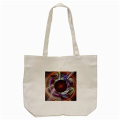 Background Image With Hidden Fractal Flower Tote Bag (cream) by Simbadda