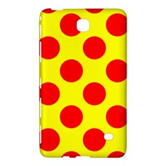 Polka Dot Red Yellow Samsung Galaxy Tab 4 (8 ) Hardshell Case  by Mariart