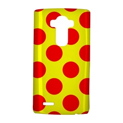 Polka Dot Red Yellow Lg G4 Hardshell Case by Mariart