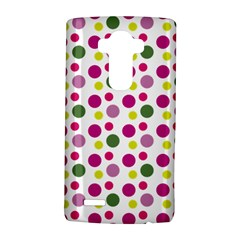 Polka Dot Purple Green Yellow Lg G4 Hardshell Case by Mariart