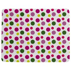 Polka Dot Purple Green Yellow Jigsaw Puzzle Photo Stand (rectangular) by Mariart