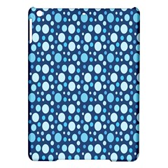 Polka Dot Blue Ipad Air Hardshell Cases by Mariart