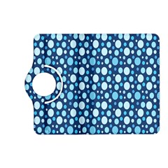 Polka Dot Blue Kindle Fire Hd (2013) Flip 360 Case by Mariart