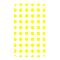 Polka Dot Yellow White Memory Card Reader by Mariart