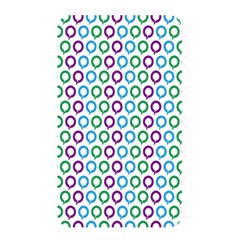 Polka Dot Like Circle Purple Blue Green Memory Card Reader by Mariart