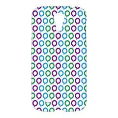 Polka Dot Like Circle Purple Blue Green Samsung Galaxy S4 I9500/i9505 Hardshell Case by Mariart