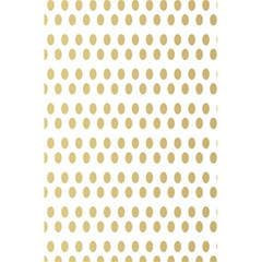 Polka Dots Gold Grey 5 5  X 8 5  Notebooks by Mariart