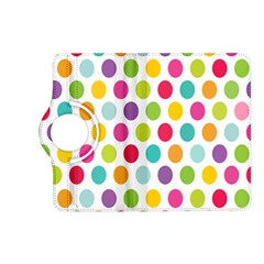 Polka Dot Yellow Green Blue Pink Purple Red Rainbow Color Kindle Fire Hd (2013) Flip 360 Case by Mariart
