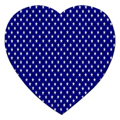 Rainbow Polka Dot Borders Colorful Resolution Wallpaper Blue Star Jigsaw Puzzle (heart) by Mariart