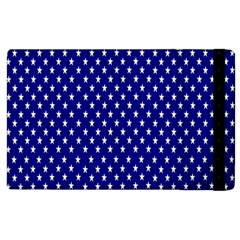 Rainbow Polka Dot Borders Colorful Resolution Wallpaper Blue Star Apple Ipad 2 Flip Case by Mariart