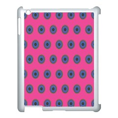 Polka Dot Circle Pink Purple Green Apple Ipad 3/4 Case (white) by Mariart