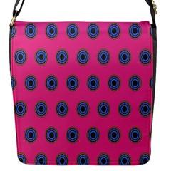 Polka Dot Circle Pink Purple Green Flap Messenger Bag (s) by Mariart