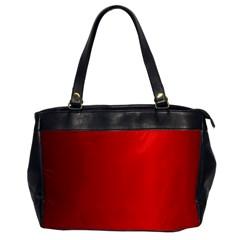 Red Gradient Fractal Backgroun Office Handbags by Simbadda