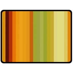 Colorful Citrus Colors Striped Background Wallpaper Fleece Blanket (Large)  by Simbadda