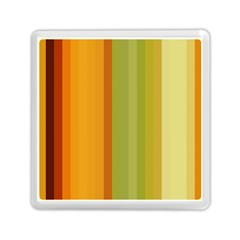 Colorful Citrus Colors Striped Background Wallpaper Memory Card Reader (square)