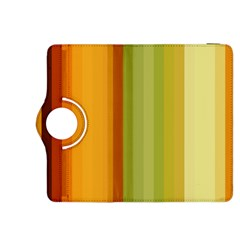 Colorful Citrus Colors Striped Background Wallpaper Kindle Fire Hdx 8 9  Flip 360 Case by Simbadda