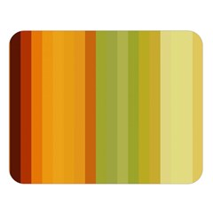 Colorful Citrus Colors Striped Background Wallpaper Double Sided Flano Blanket (large)  by Simbadda