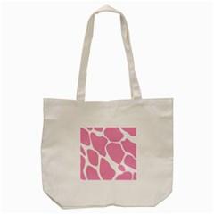 Baby Pink Girl Pattern Colorful Background Tote Bag (cream) by Simbadda