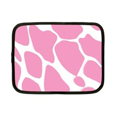Baby Pink Girl Pattern Colorful Background Netbook Case (small)  by Simbadda