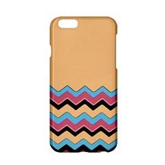 Chevrons Patterns Colorful Stripes Background Art Digital Apple Iphone 6/6s Hardshell Case by Simbadda