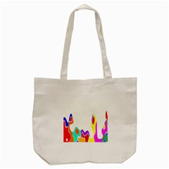 Simple Abstract With Copyspace Tote Bag (cream) by Simbadda